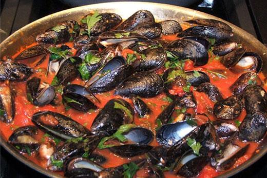 fresh mussels – mediterranean diet